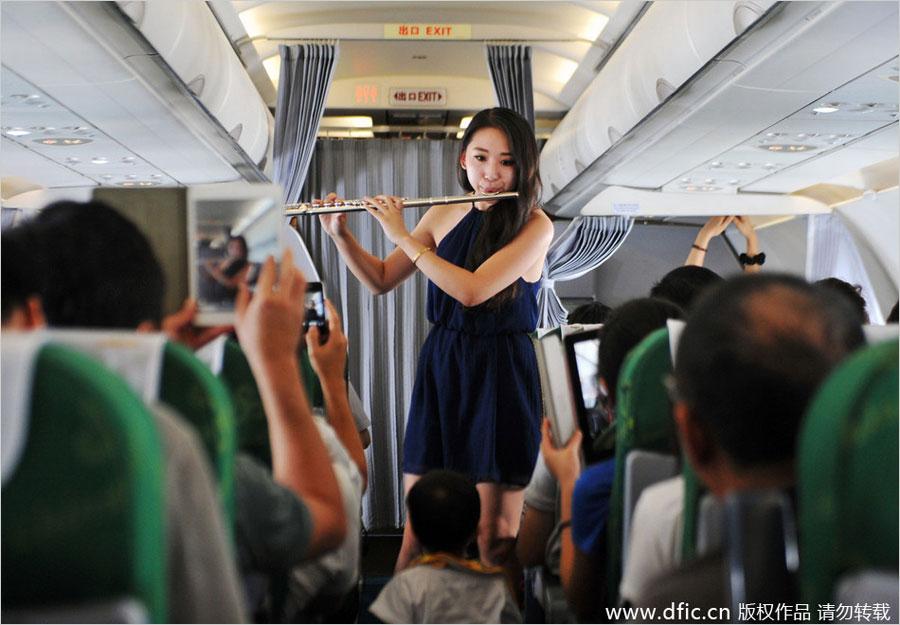 China     s Spring Airlines launches first anime themed flight   Apple     The airline also plans to launch  quot moon viewing quot  flights during the traditional Chinese Moon Festival and flights that have blind dating services