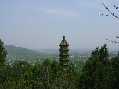 The Fragrant Hills Pagoda
