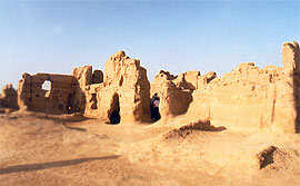 Ancient City of Jiaohe (Yarkhoto)