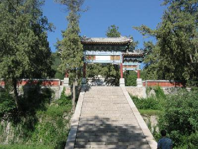 Biyun Temple in the park