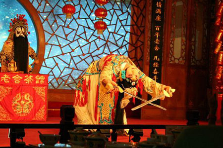 Folk Art Performances at Laoshe Teahouse