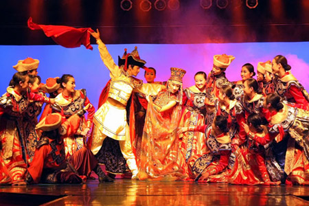 Mongolian dance and music shows