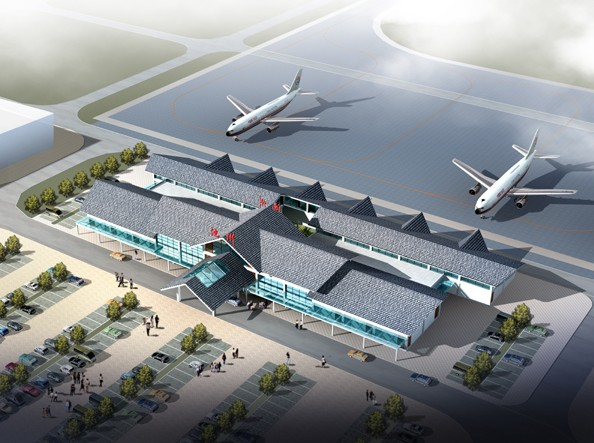 Chizhou China  city photo : Chizhou Jiuhuashan Airport