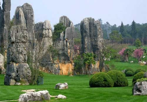 Linyin stone forest, little Guilin in Yong'an, Fujian