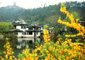 Gardens in Yangzhou City