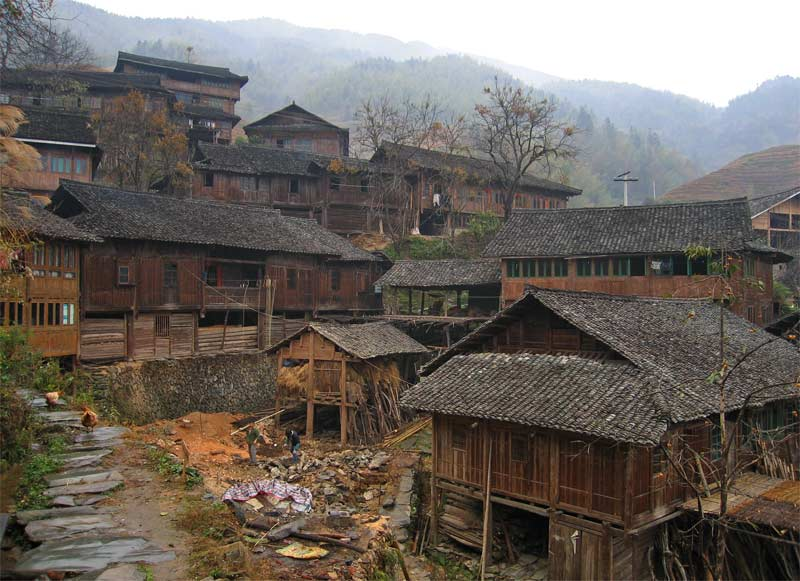 Picturesque Ping'an, Guangxi