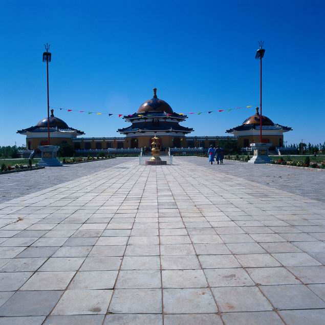 The Mausoleum of Gengghis Khan