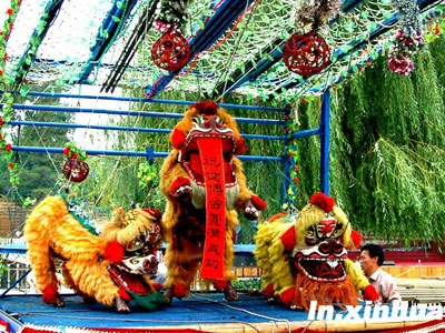 The unique String Lion Dance of Huotong in Ningde, East Fujian