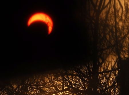 China records longest annular solar eclipse on 15th Jan, 2010